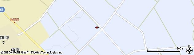 山形県上山市原口117周辺の地図