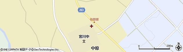 山形県上山市牧野2348周辺の地図
