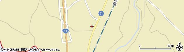 山形県上山市中山737周辺の地図