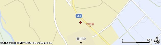 山形県上山市牧野2355周辺の地図
