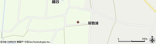 山形県上山市細谷11周辺の地図