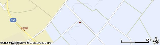 山形県上山市原口157周辺の地図