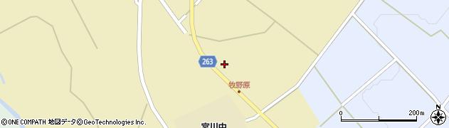 山形県上山市牧野竹原周辺の地図