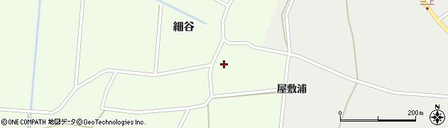 山形県上山市細谷8周辺の地図