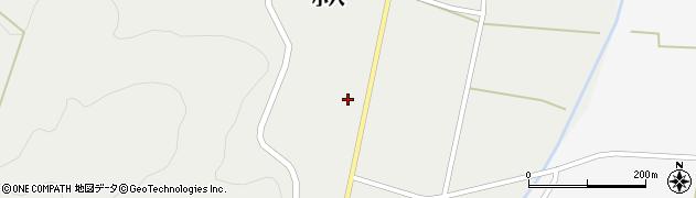 山形県上山市小穴44周辺の地図