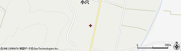 山形県上山市小穴47周辺の地図