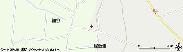 山形県上山市細谷214周辺の地図