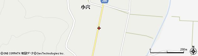 山形県上山市小穴54周辺の地図