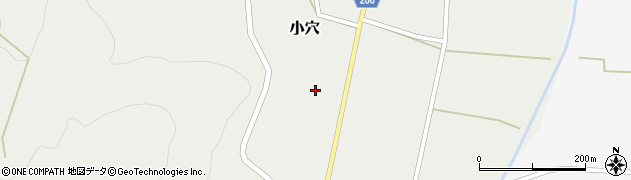 山形県上山市小穴49周辺の地図