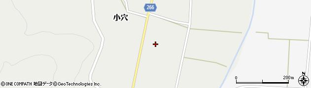 山形県上山市小穴58周辺の地図