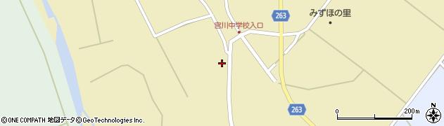 山形県上山市牧野久保周辺の地図