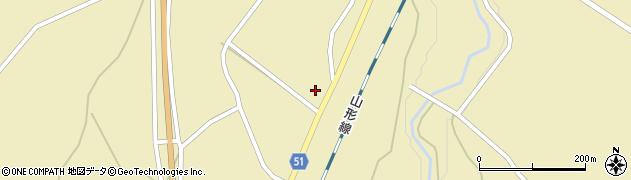 山形県上山市中山769周辺の地図