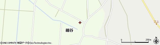 山形県上山市細谷19周辺の地図