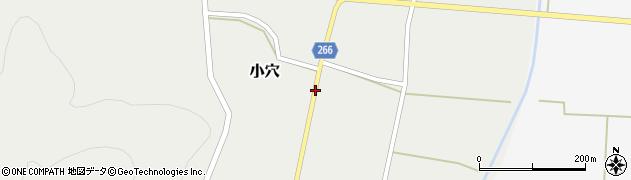 山形県上山市小穴65周辺の地図