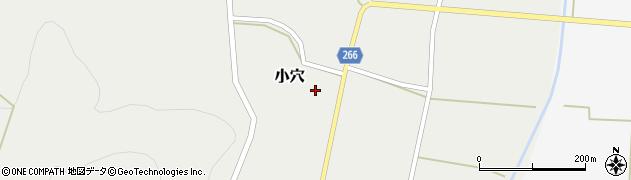 山形県上山市小穴66周辺の地図