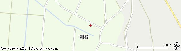 山形県上山市細谷21周辺の地図