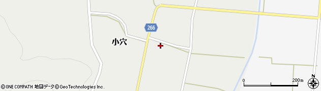 山形県上山市小穴68周辺の地図