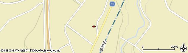 山形県上山市中山1379周辺の地図