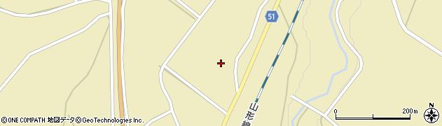 山形県上山市中山1244周辺の地図