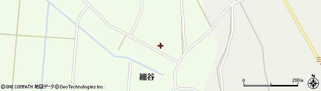 山形県上山市細谷70周辺の地図