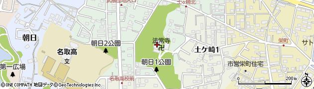 法常寺周辺の地図