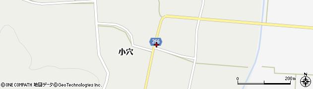 山形県上山市小穴76周辺の地図