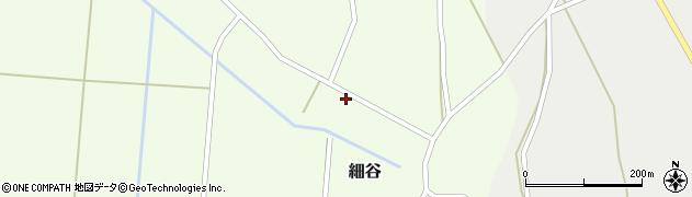 山形県上山市細谷26周辺の地図