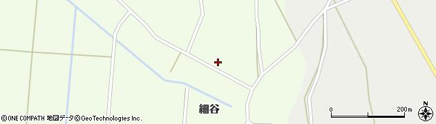 山形県上山市細谷68周辺の地図