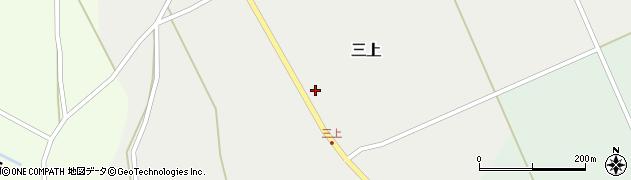 山形県上山市三上41周辺の地図