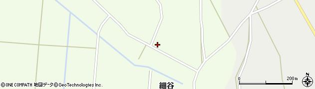 山形県上山市細谷65周辺の地図