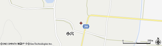 山形県上山市小穴80周辺の地図