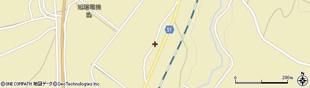 山形県上山市中山1433周辺の地図