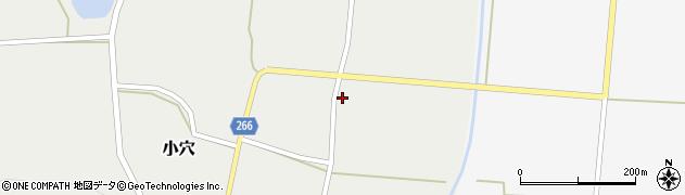 山形県上山市小穴114周辺の地図