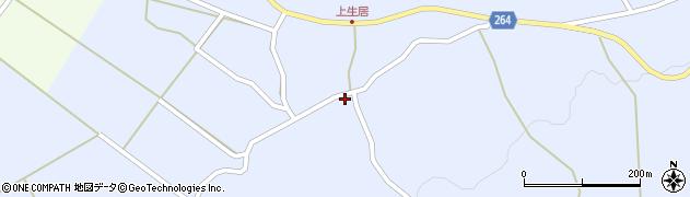 山形県上山市上生居492周辺の地図