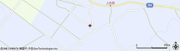 山形県上山市上生居121周辺の地図
