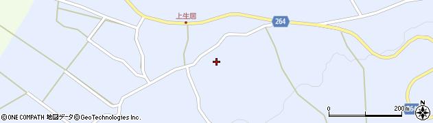 山形県上山市下生居ザイケ周辺の地図