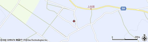山形県上山市上生居120周辺の地図