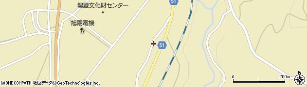 山形県上山市中山1437周辺の地図