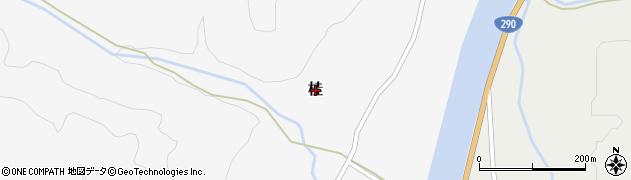 新潟県関川村(岩船郡)桂周辺の地図