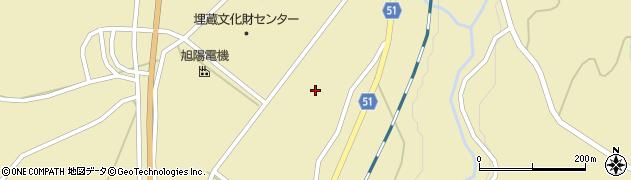 山形県上山市中山壁屋敷5651周辺の地図