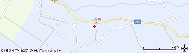 山形県上山市上生居36周辺の地図