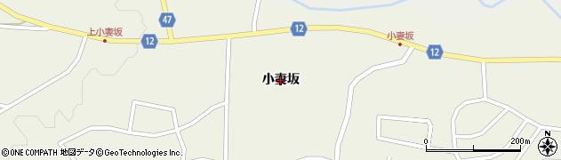 宮城県蔵王町(刈田郡)遠刈田温泉(小妻坂)周辺の地図