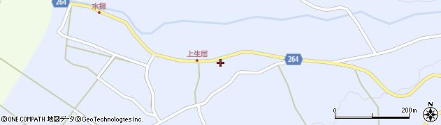 山形県上山市上生居22周辺の地図
