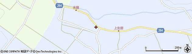 山形県上山市上生居65周辺の地図