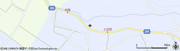 山形県上山市上生居64周辺の地図