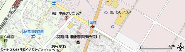 坂町周辺の地図