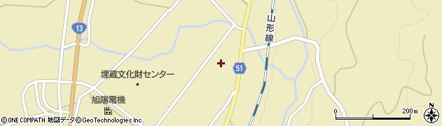 山形県上山市中山5579周辺の地図