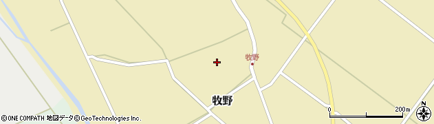 山形県上山市牧野1319周辺の地図
