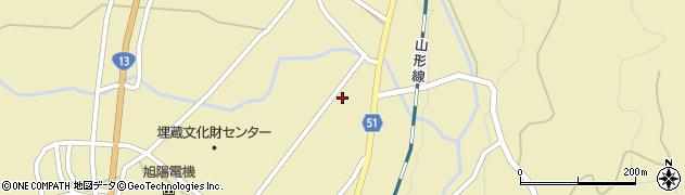 山形県上山市中山5575周辺の地図