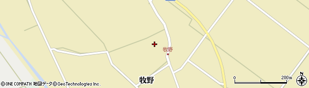 山形県上山市牧野54周辺の地図